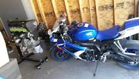 08 gsxr-600 with only 4000 kms!