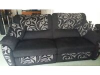 Large Recliner Sofa For Sale Collection Only