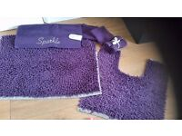 Luxury bath mats collection