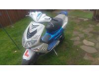 57 plate peugeot speedfight 2 motosport
