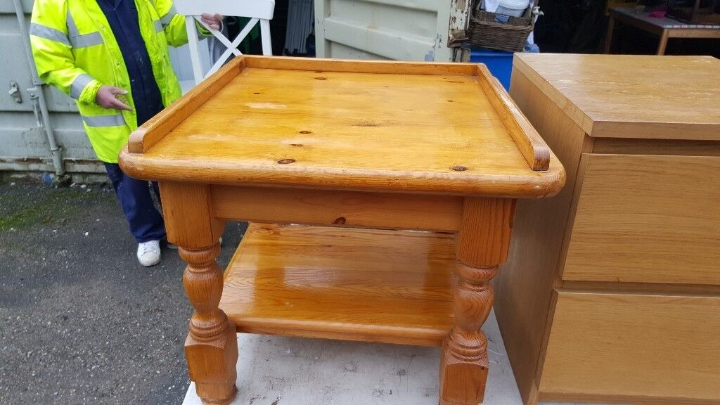Nice Pine Table 2 Foot Square
