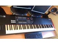 CME UF8 88 Key Weighted Midi Contoller Keyboard With Aftertouch.