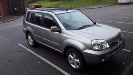 Nissan X Trail,2005, 4X4, 2.2 Diesel, 136 BHP, Sat Nav, full option, 1 previous owner