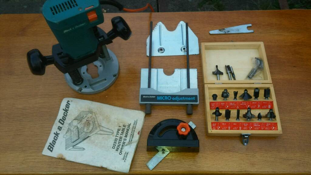 Black And Decker Router Table
