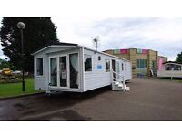 STATIC CARAVAN FOR SALE HAGGERSTON CASTLE