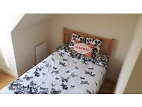 Double bed AND mattress for sale!