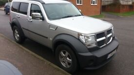 Dodge nitro 6 speed manaul years m.o.t new tyres .immaculate condition new stereo .may px
