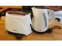 Prestige toaster and kettle set