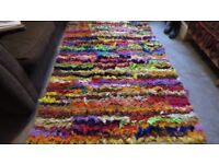 Gorgeous Multicoloured Rug. 6.2ft x 4ft