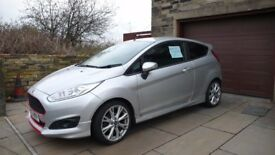 65 PLATE FIESTA 1.6 DIESEL (SPORT) FINISHED IN SILVER WITH SPORTS BODY KIT AND SPORTS INTERIOR