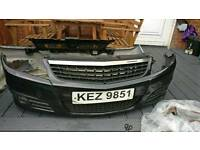 Vauxhall Vectra Facelift front bumper