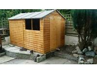 10x6 overlap shed new