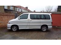 Need to sell great 8 seater automatic grey import