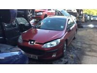 2004 Peugeot 407 SW S HDI Estate Diesel 2L Red BREAKING FOR SPARES