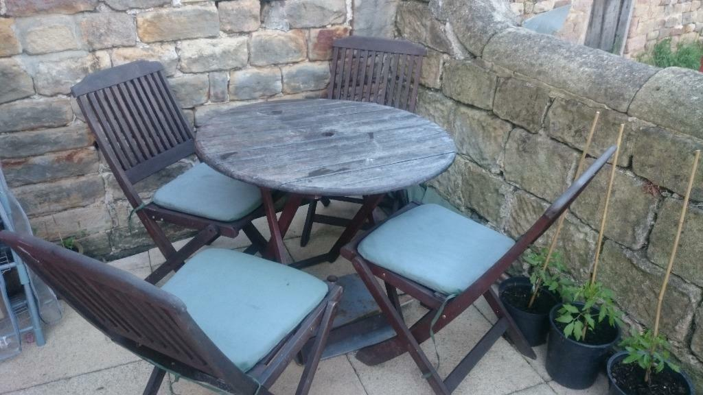 Garden tablechairs with parasol buy sale and trade ads - Garden furniture kings lynn ...