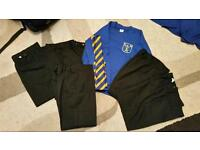 FREE Size 6-7 year black trousers, DLMPS jumper and school tie