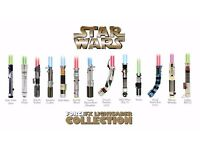 *WANTED* toy Lightsabers ForceFX Master Replicas/Hasbro (any condition) lightsabres sabers sabres