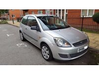 2006 Silver Ford Fiesta 1.2 Style Climate Hatchback , New MOT , Low miles , Low insurance