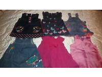 Girls Designer Winter Dresses 3-6 mths