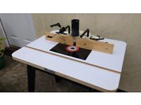 Router Table by Axminster Tools never used unwanted gift