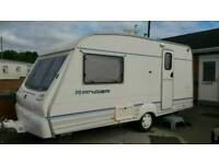 BAILEY RANGER 2 BIRTH CARAVAN WITH FULL AWNING