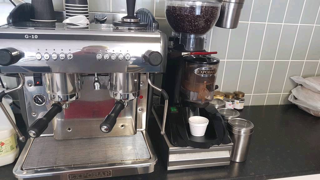 Professional Coffee Machine And Grinder Expobar In Fauldhouse West Lothian Gumtree