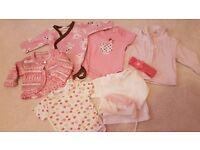 Baby girl clothes bundle 0-3