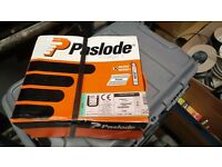 Paslode 63mm nail pack with gas.