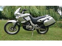 Cagiva Canyon 500 Adventure Trailie with Hard Luggage A2 licence friendly