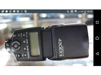 New canon flashgun for any slr dslr digital camera