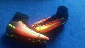Boys sock football boots