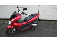 Nice running 13 plate honda pcx 125 for sale