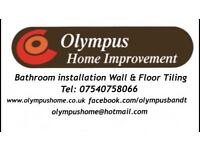 Olympus Home Improvement.bathroom.fitting. wall and floor tiling .installation .landlord. Tiler