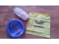 Tommee tippee potette travel potty. Includes carry bag and 3 bags. Feltham