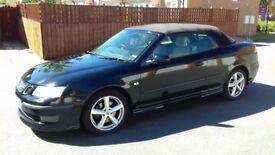 2006 saab 1.9 diesel convertible black