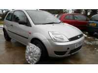FIESTA 12CC 2005 SILVER LOW MILES IDEAL 1ST CAR,CHOICE OF 4