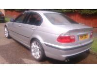 2001 BMW 330D Sport 4dr Silver