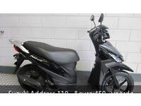 Suzuki address 113cc black