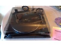 Ion Profile LP USB Turntable as new.