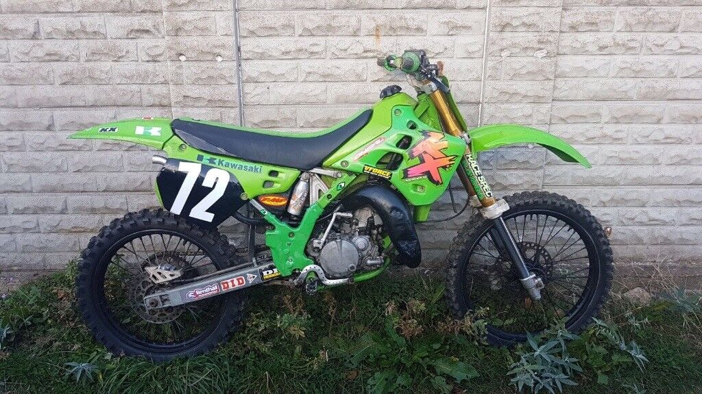 1990 rare kawasaki kx 125 fresh engine and gearbox rebuild. Black Bedroom Furniture Sets. Home Design Ideas