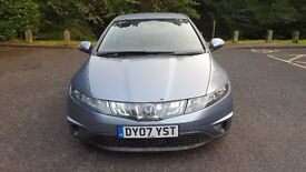 2007 HONDA CIVIC SE I-CTDI BLUE ,Hpi clear