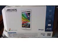 Archos 7 o Platinum tablet
