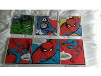 Spiderman wall canvas