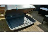Karrite Mirage 400 Litre Key Lockable Car Roof Box With Brackets