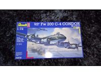 "Revell of Germany 1:72 Fw 200 C-4 Condor ""Bomber"" RMG4678-W"