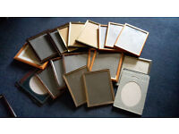 a selection of 10 x 7 photograph frames - free to anyone who can collect