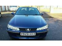 PEUGEOT 406 LX *EW10* PETROL DRIVES SPOTLESS & VERY ECONOMICAL ON PETROL.