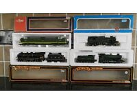 Four Model Railway Locomotives Mainline Airfix Lima excellent condition fully tested working order