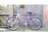 MOUNTAIN BIKE VERY GOOD CONDITION.