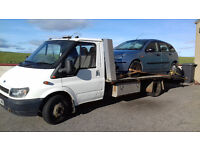 Broken down? Car van and 4x4 recovery with breakdown. Aberdeen and Aberdeenshire